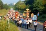 processione croce